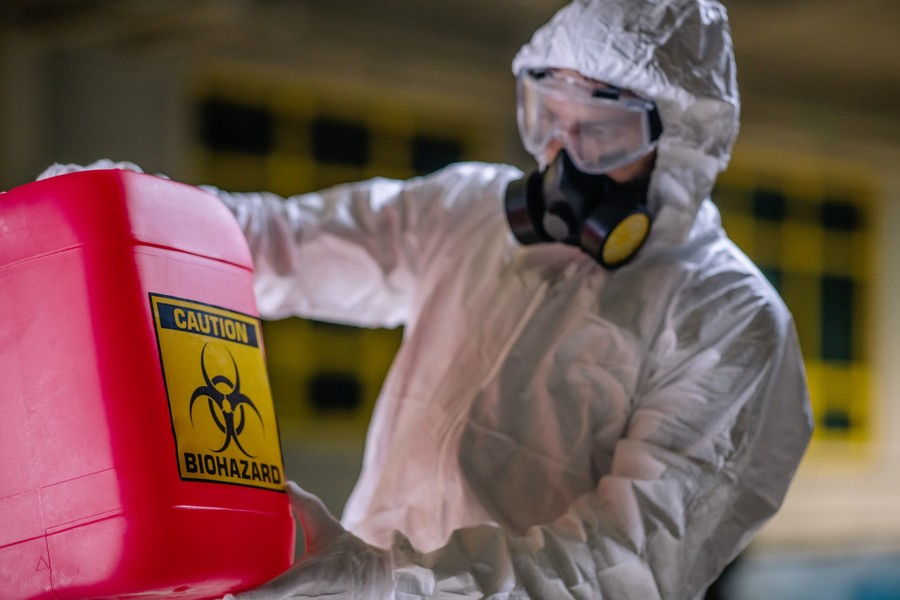 Biohazard Cleanup by Certified Green Team