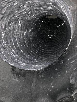 Before & After Dryer Vent Cleaning in Dania Beach, FL (2)